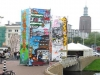 Battle of the 2 towers, Witte de With festival, Rotterdam 2005