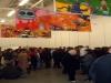 LP paintings in Tent Rotterdam, november 2007