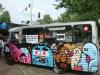Earworm, Sake, Ox-Alien, Bue The Warrior, Yen, Ba, Das Boat & Oles chilling on a bus...